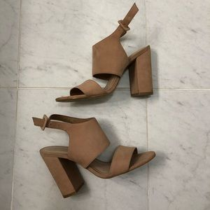 Blush Aldo Heels